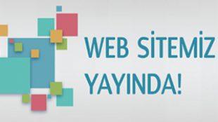 Yenilenen Web Sitemiz Yayında